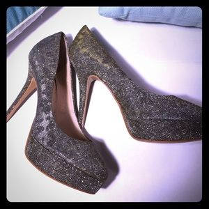 Guess high heels 👠 shimmer stiletto style